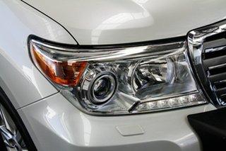 2015 Toyota Landcruiser VDJ200R MY13 Sahara Crystal Pearl 6 Speed Sports Automatic Wagon
