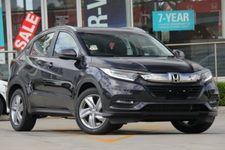 2020 Honda HR-V MY21 VTi-S Crystal Black 1 Speed Constant Variable Hatchback.