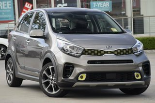 2019 Kia Picanto JA MY19 AO Edition Titanium Silver 4 Speed Automatic Hatchback.