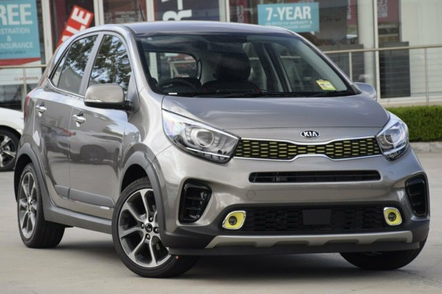 New Kia Picanto JA MY19 AO Edition, 2019 Kia Picanto JA MY19 AO Edition Titanium Silver 4 Speed Automatic Hatchback