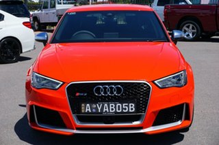 2015 Audi RS 3 8V MY16 Sportback S tronic quattro Red 7 Speed Sports Automatic Dual Clutch Hatchback.