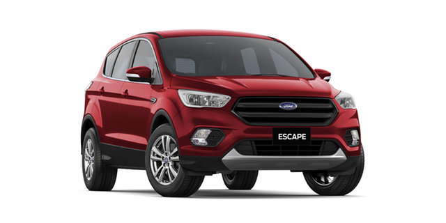 New Ford Escape ZG 2018.75MY Ambiente 2WD, 2018 Ford Escape ZG 2018.75MY Ambiente 2WD Ruby Red 6 Speed Sports Automatic SUV