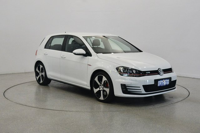 Used Volkswagen Golf VII MY16 GTI DSG, 2016 Volkswagen Golf VII MY16 GTI DSG White 6 Speed Sports Automatic Dual Clutch Hatchback
