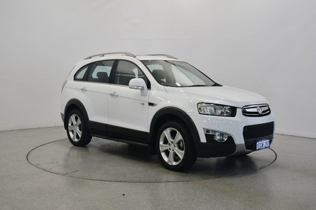 Used Holden Captiva CG MY13 7 AWD LX, 2013 Holden Captiva CG MY13 7 AWD LX White 6 Speed Sports Automatic Wagon