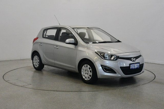 Used Hyundai i20 PB MY12 Active, 2012 Hyundai i20 PB MY12 Active Sleek Silver 4 Speed Automatic Hatchback