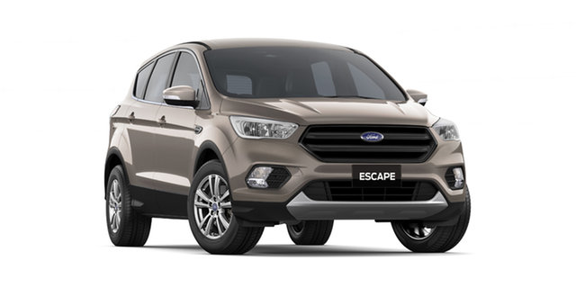 New Ford Escape ZG 2018.75MY Ambiente 2WD, 2018 Ford Escape ZG 2018.75MY Ambiente 2WD Diffused Silver 6 Speed Sports Automatic SUV