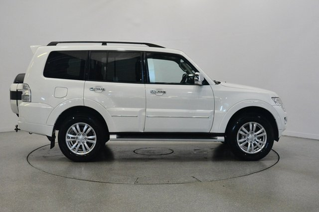 Used Mitsubishi Pajero NX MY15 Exceed, 2015 Mitsubishi Pajero NX MY15 Exceed White 5 Speed Sports Automatic Wagon