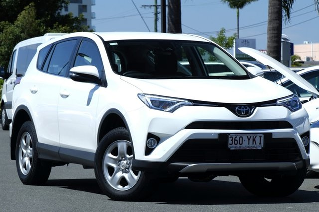 Demo Toyota RAV4 ASA44R GX AWD, 2017 Toyota RAV4 ASA44R GX AWD Glacier White 6 Speed Sports Automatic Wagon