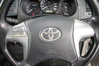 2014 Toyota Hilux TGN16R MY14 Workmate 4x2 Glacier White 5 Speed Manual Cab Chassis