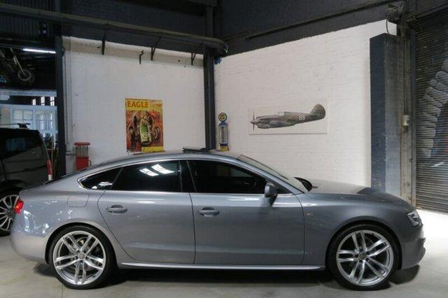 Used Audi A5 8T , 2014 Audi A5 8T Grey Sports Automatic Dual Clutch Hatchback