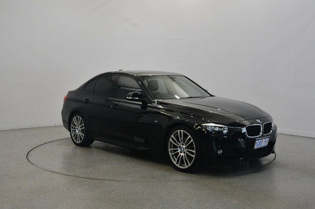 Used BMW 320i F30 MY1114 M Sport, 2014 BMW 320i F30 MY1114 M Sport Black 8 Speed Sports Automatic Sedan