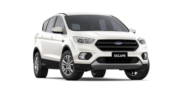 New Ford Escape ZG 2019.75MY Ambiente AWD, 2019 Ford Escape ZG 2019.75MY Ambiente AWD White 6 Speed Sports Automatic Wagon