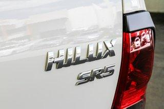 2017 Toyota Hilux GUN126R SR5 Double Cab Glacier White 6 Speed Sports Automatic Utility