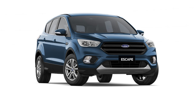 New Ford Escape ZG 2018.75MY Ambiente 2WD, 2018 Ford Escape ZG 2018.75MY Ambiente 2WD Blue Metallic 6 Speed Sports Automatic SUV