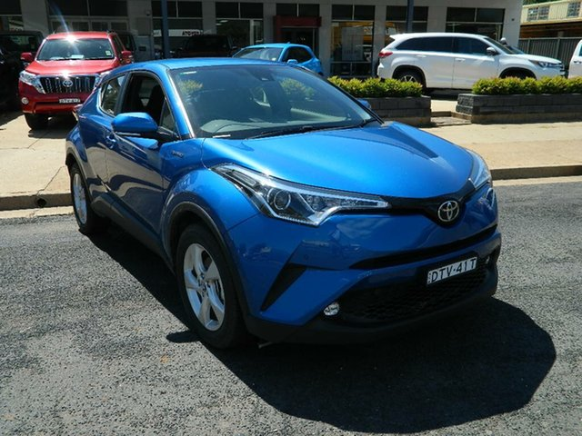 Demo Toyota C-HR NGX10R (2WD), 2017 Toyota C-HR NGX10R (2WD) Tidal Blue Continuous Variable Wagon