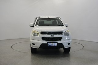2012 Holden Colorado RG MY13 LX White 6 Speed Sports Automatic Cab Chassis