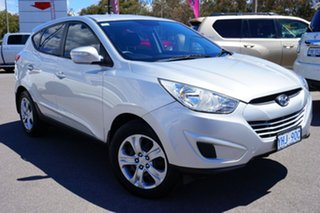 2010 Hyundai ix35 LM Active Silver 6 Speed Sports Automatic Wagon.