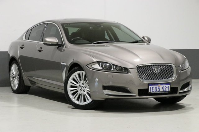 Used Jaguar XF MY12 3.0 V6 Luxury, 2011 Jaguar XF MY12 3.0 V6 Luxury Grey 6 Speed Automatic Sedan