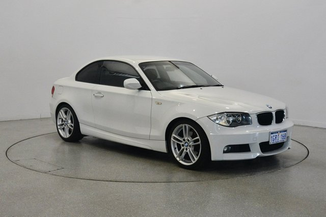 Used BMW 125i E82 MY11 , 2010 BMW 125i E82 MY11 White 6 Speed Automatic Coupe