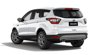 2019 Ford Escape ZG 2019.25MY Ambiente 2WD Frozen White 6 Speed Sports Automatic Wagon.