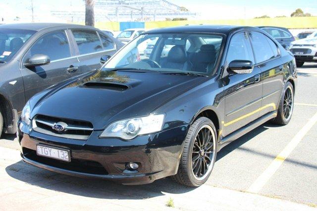 Used Subaru Liberty B4 MY05 GT AWD, 2004 Subaru Liberty B4 MY05 GT AWD Black 5 Speed Manual Sedan