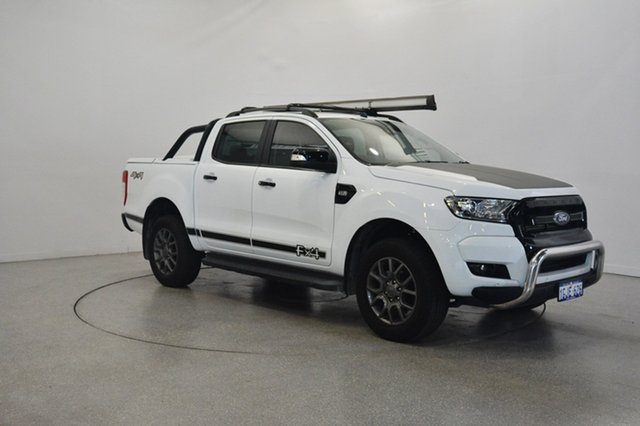 Used Ford Ranger PX MkII FX4 Double Cab, 2017 Ford Ranger PX MkII FX4 Double Cab Frozen White 6 Speed Sports Automatic Utility
