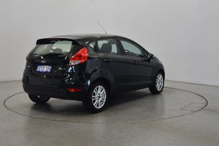 2014 Ford Fiesta WZ Trend Black Mica 5 Speed Manual Hatchback.