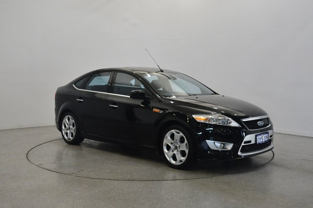 Used Ford Mondeo MB Titanium, 2010 Ford Mondeo MB Titanium Black 6 Speed Sports Automatic Hatchback