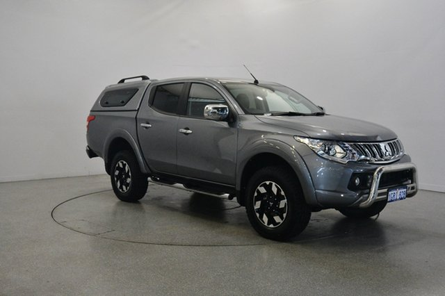 Used Mitsubishi Triton MQ MY16 Exceed Double Cab, 2015 Mitsubishi Triton MQ MY16 Exceed Double Cab Grey 5 Speed Sports Automatic Utility