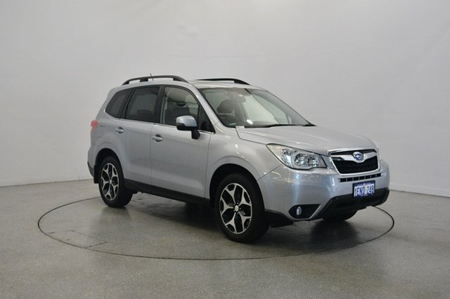 Used Subaru Forester S4 MY14 2.5i-S Lineartronic AWD, 2014 Subaru Forester S4 MY14 2.5i-S Lineartronic AWD Silver 6 Speed Constant Variable Wagon
