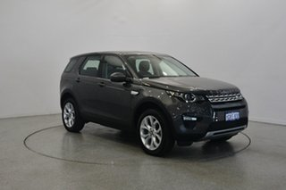 2016 Land Rover Discovery Sport L550 16.5MY Td4 HSE Grey 9 Speed Sports Automatic Wagon.