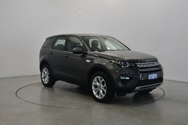 Used Land Rover Discovery Sport L550 16.5MY Td4 HSE, 2016 Land Rover Discovery Sport L550 16.5MY Td4 HSE Grey 9 Speed Sports Automatic Wagon