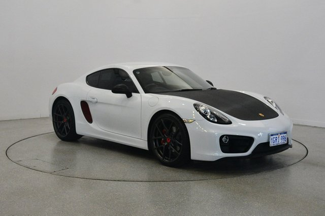 Used Porsche Cayman 981 MY15 PDK, 2014 Porsche Cayman 981 MY15 PDK White 7 Speed Sports Automatic Dual Clutch Coupe
