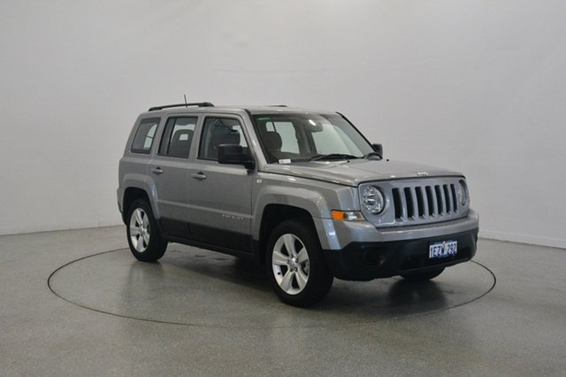 Used Jeep Patriot MK MY16 Sport CVT Auto Stick 4x2, 2016 Jeep Patriot MK MY16 Sport CVT Auto Stick 4x2 Billet 6 Speed Constant Variable Wagon