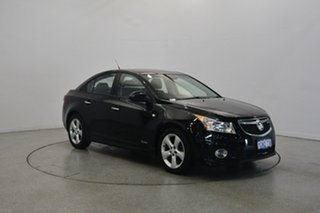 2011 Holden Cruze JH Series II MY11 SRi-V Black 6 Speed Sports Automatic Sedan.
