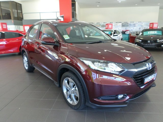 Demo Honda HR-V MY16 VTi-S, 2017 Honda HR-V MY16 VTi-S Carnelian Red 1 Speed Constant Variable Hatchback