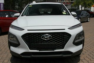 2018 Hyundai Kona Go Chalk White 6 Speed Automatic Hatchback