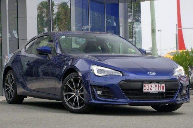 Demo Subaru BRZ Z1 MY18 Premium, 2018 Subaru BRZ Z1 MY18 Premium Lapis Blue 6 Speed Sports Automatic Coupe