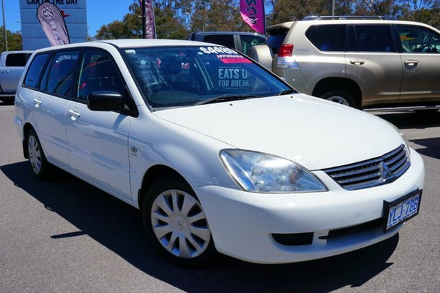 Used Mitsubishi Lancer CH MY07 ES, 2008 Mitsubishi Lancer CH MY07 ES White 4 Speed Sports Automatic Wagon