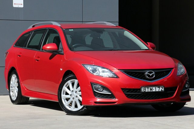 Used Mazda 6 GH1052 MY10 Classic, 2010 Mazda 6 GH1052 MY10 Classic Velocity Red 5 Speed Sports Automatic Wagon