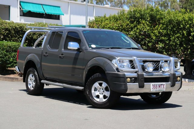 Used Nissan Navara D40 ST-X, 2010 Nissan Navara D40 ST-X Grey 6 Speed Manual Utility