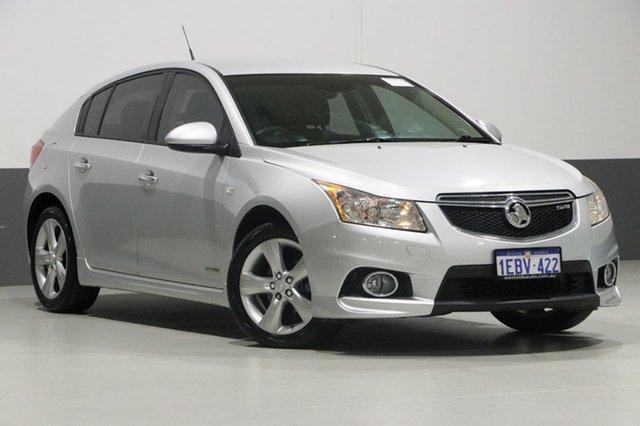 Used Holden Cruze JH MY12 SRi V, 2012 Holden Cruze JH MY12 SRi V Silver 6 Speed Automatic Hatchback