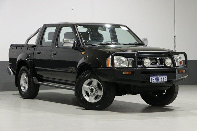 Used Nissan Navara D22 ST-R (4x4), 2006 Nissan Navara D22 ST-R (4x4) Black 5 Speed Manual Dual Cab Pick-up