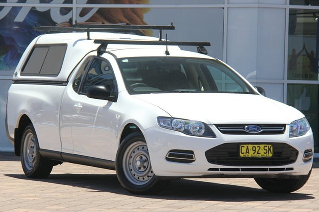 Used Ford Falcon FG MkII Ute Super Cab, 2014 Ford Falcon FG MkII Ute Super Cab White 6 Speed Sports Automatic Utility