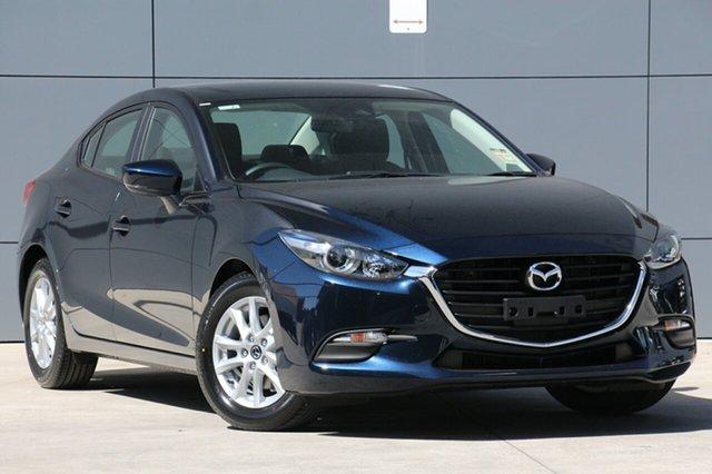 New Mazda 3 BN5278 Neo SKYACTIV-Drive Sport, 2018 Mazda 3 BN5278 Neo SKYACTIV-Drive Sport Deep Crystal Blue 6 Speed Sports Automatic Sedan