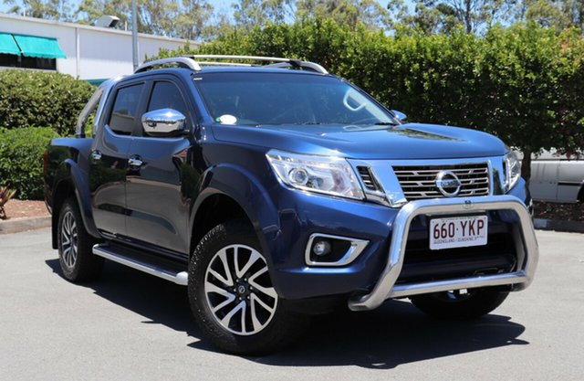 Used Nissan Navara D23 ST-X, 2015 Nissan Navara D23 ST-X Blue 7 Speed Sports Automatic Utility