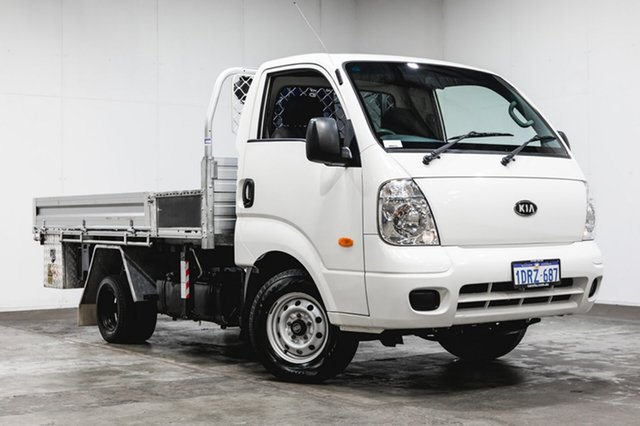 Used Kia K2900 PU3 MY10 , 2011 Kia K2900 PU3 MY10 White 5 Speed Manual Cab Chassis