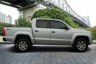 2015 Volkswagen Amarok 2H MY15 TDI420 4MOTION Perm Core Silver 8 Speed Automatic Utility.
