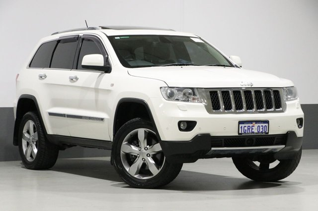 Used Jeep Grand Cherokee WK Overland (4x4), 2012 Jeep Grand Cherokee WK Overland (4x4) White 5 Speed Automatic Wagon