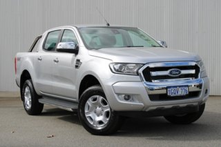 2018 Ford Ranger PX MKII 2018.00 XLT Double Cab Ingot Silver 6 Speed Sports Automatic Utility